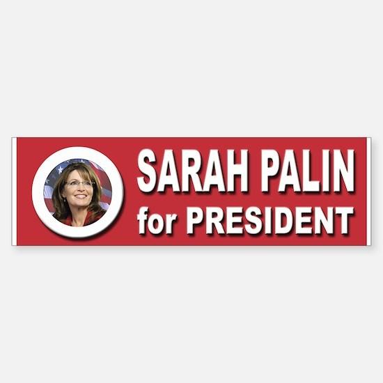 Sarah Palin for President 2016 Sticker (Bumper)