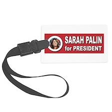 Sarah Palin for President 2016 Luggage Tag