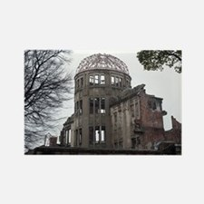 A bomb dome ruins Rectangle Magnet