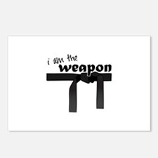I Am The Weapon Postcards (Package of 8)