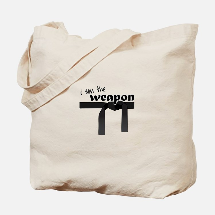 I Am The Weapon Tote Bag