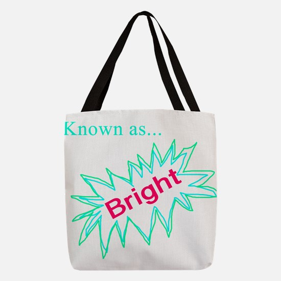 Known as Bright Polyester Tote Bag
