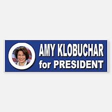 Amy Klobuchar for President 2016 Car Car Sticker