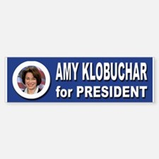 Amy Klobuchar for President 2016 Sticker (Bumper)