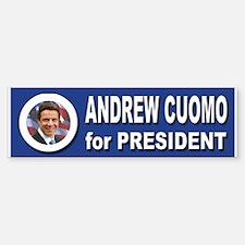 Andrew Cuomo for President 2016 Sticker (Bumper)