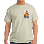 Feline Network Logo - Ash Grey T-Shirt