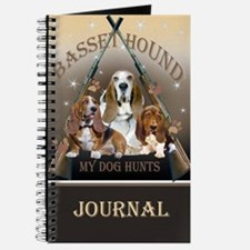 Basset Hound My Dog Hunts Journal