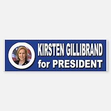 Kirsten Gillibrand for President Bumper Bumper Sticker