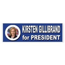 Kirsten Gillibrand for President Bumper Sticker
