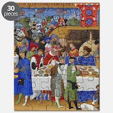 Medieval illustration Puzzle