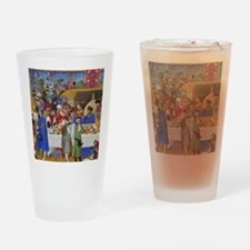 Medieval illustration Drinking Glass