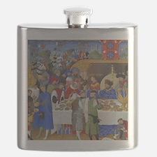Medieval illustration Flask