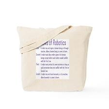 Asimov Laws of Robotics  Tote Bag