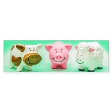 Farm Animals Bumper Sticker