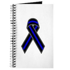 Blue Line Ribbon Journal