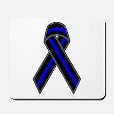 Blue Line Ribbon Mousepad