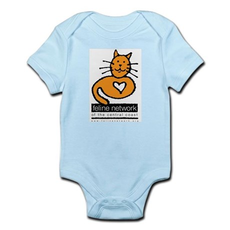 Feline Network Logo - Infant Creeper