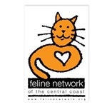 Feline Network Logo - Postcards (Package of 8)