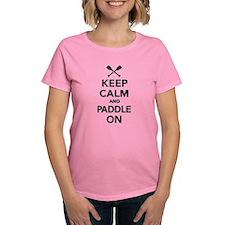 Keep calm and Paddle on Tee
