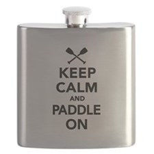 Keep calm and Paddle on Flask