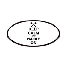 Keep calm and Paddle on Patches