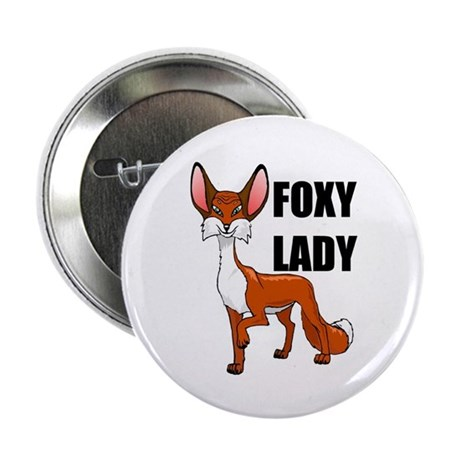 """FOXY 2.25"""" Button (10 pack)"""