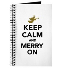 Keep calm and Merry on Journal