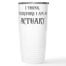 Cute Actuary Travel Mug