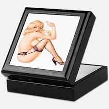 Sexy Pin Up Keepsake Box