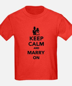 Keep calm and marry on T