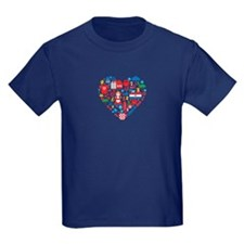Croatia World Cup 2014 Heart T