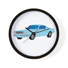 Cute Ford mustang Wall Clock