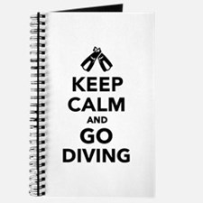 Keep calm and go Diving Journal