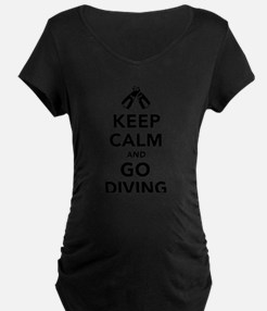 Keep calm and go Diving T-Shirt