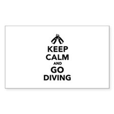 Keep calm and go Diving Decal