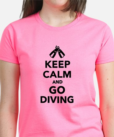 Keep calm and go Diving Tee