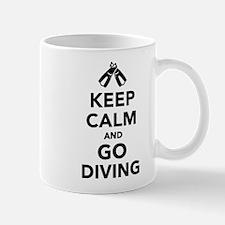 Keep calm and go Diving Mug
