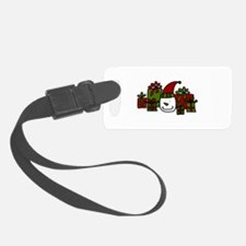 Snowman Gifts Luggage Tag