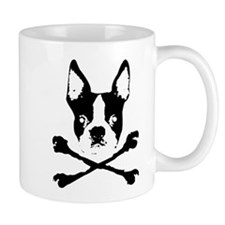 Boston Terrier Crossbones Mug