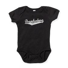 Brandenburg, Retro, Baby Bodysuit