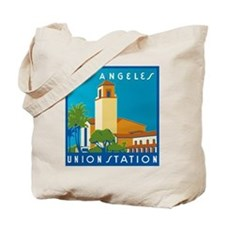 Los Angeles Union Station 75h Anniversary Tote Bag