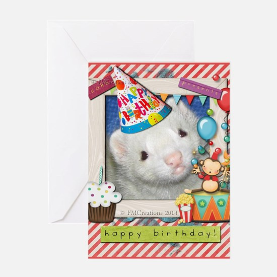 Ferret Birthday Greeting Cards – Ferret Birthday Card