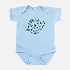 Made in 2003 Infant Bodysuit