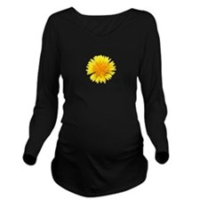 Dandylion Long Sleeve Maternity T-Shirt