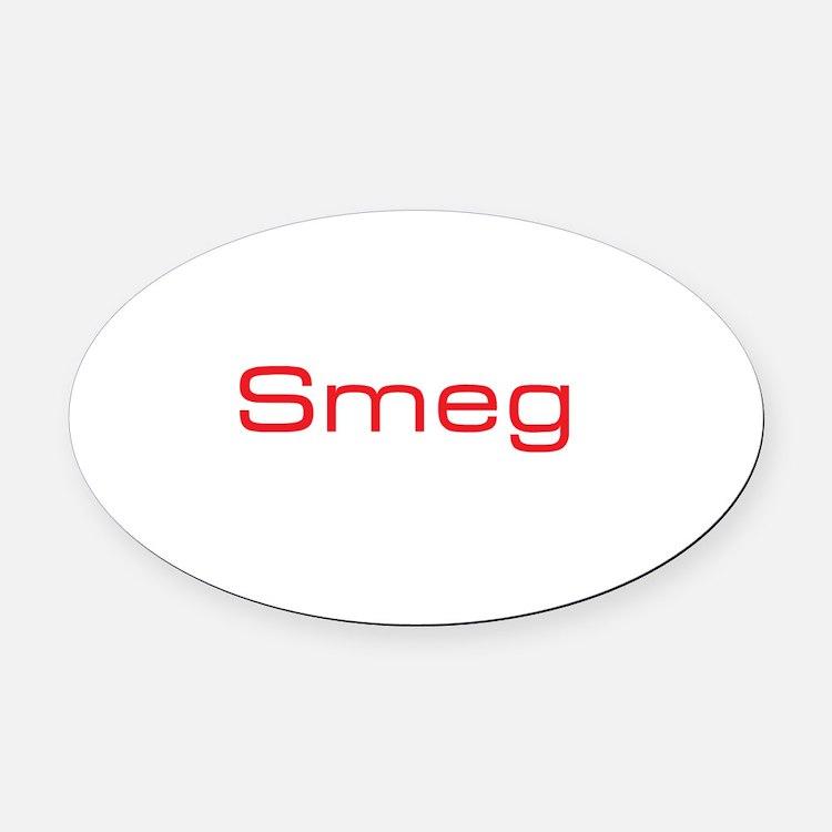Cute Smeg Oval Car Magnet