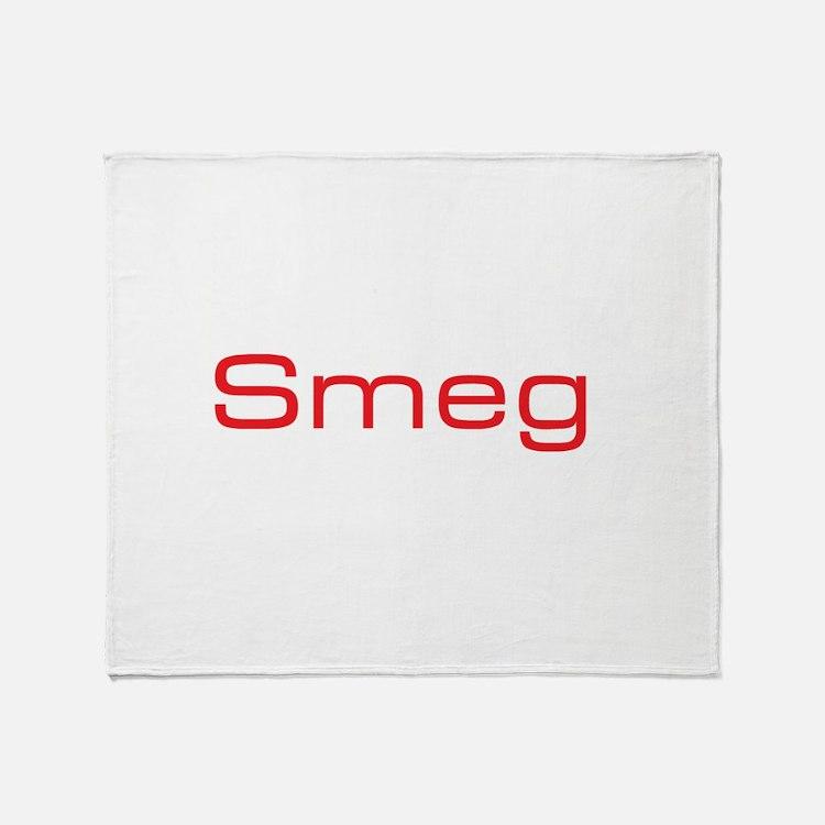Cute Smeg Throw Blanket
