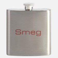 Cute Red head headed tricolor Flask