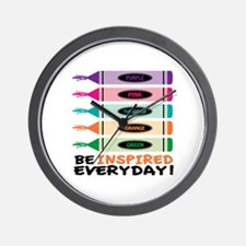 Be Inspired EveryDay! Wall Clock
