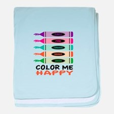 Color Me Happy baby blanket