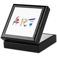 Art Supply Keepsake Box